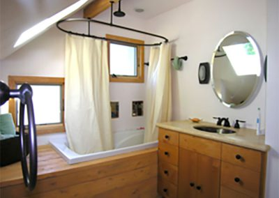 Bath, Second Floor Remodel, New Artist's Studio Portland, Oregon